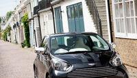 Aston Martin Cygnet, Frontansicht, Stand