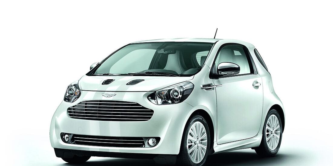 Aston Martin Cygnet, Launch Edition White