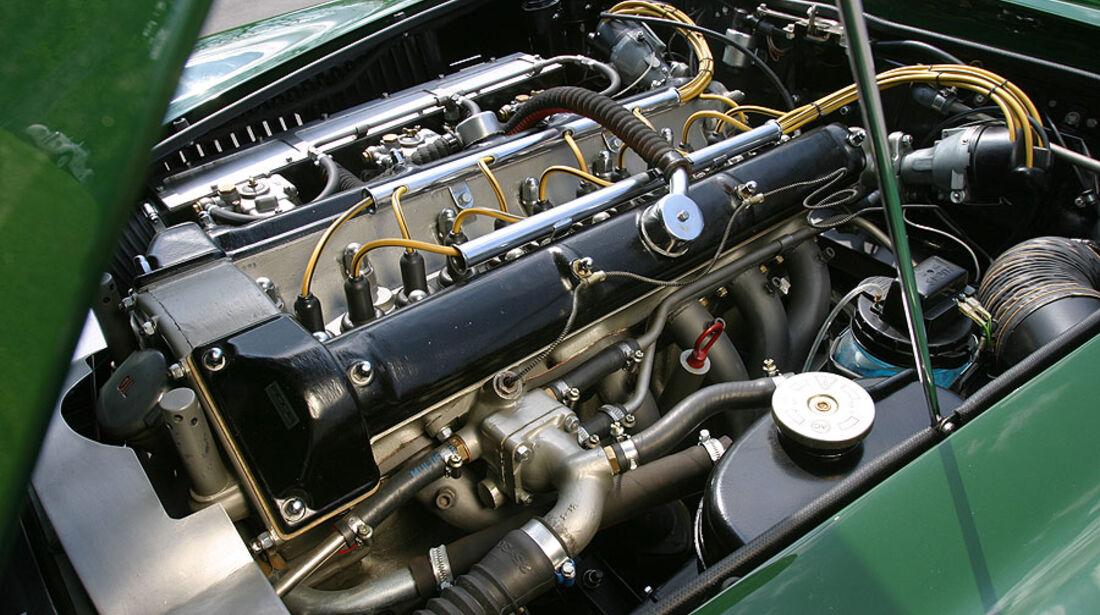 Aston Martin DB4 GT Motorraum