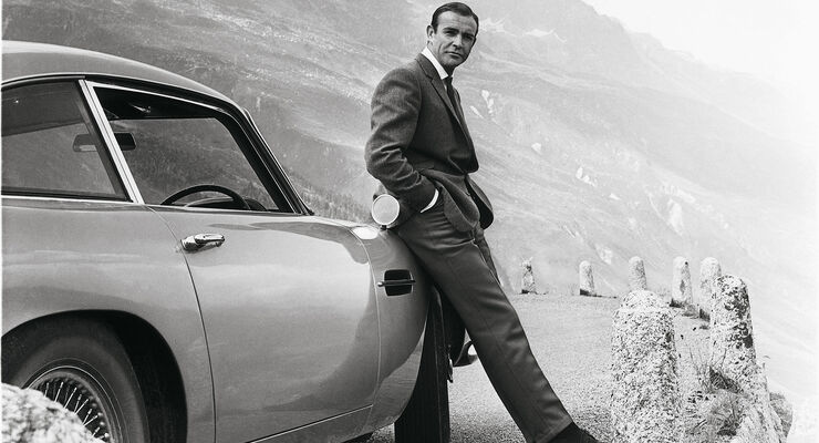 Aston Martin DB5 Goldfinger Sean Connery