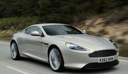 Aston Martin DB9, Frontansicht