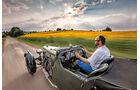 Aston Martin MK II, Fahrersicht