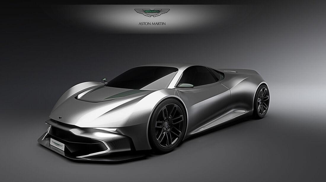 Aston Martin RR - Design - Sportwagen - Adrien Fuinel