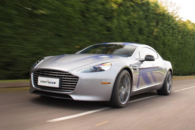 Aston Martin Rapide E: Fahrbericht, Daten, Marktstart ...