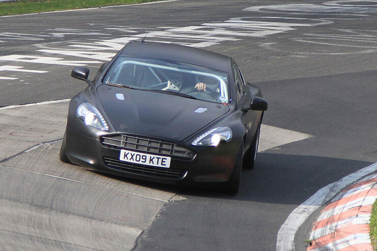 Aston Martin Rapide 24h Nürburgring Erlkönig