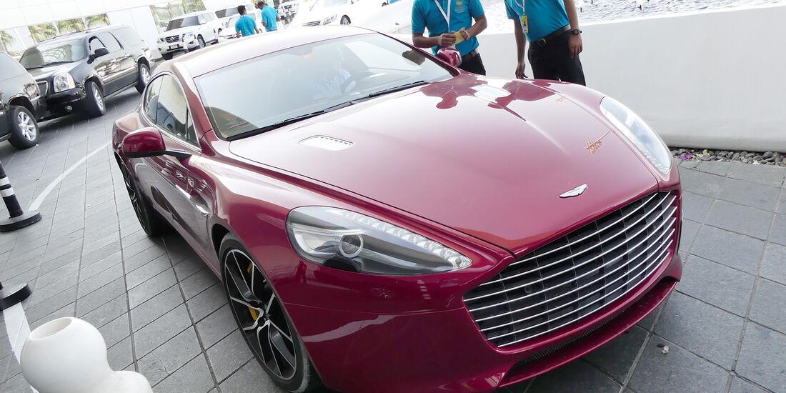 Aston Martin Rapide - Carspotting - GP Abu Dhabi 2016