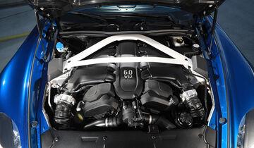 Aston Martin V12 Vanquish S, Motor