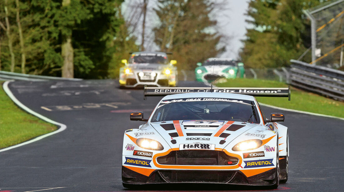 Aston Martin V12 Vantage GT3, Frontansicht