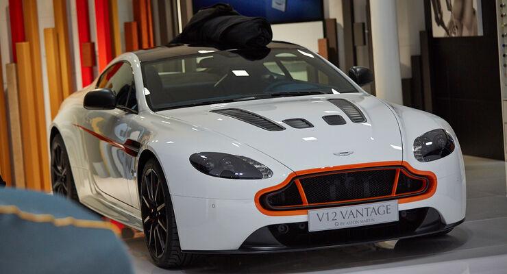 Aston Martin V12 Vantage Q, Genfer Autosalon, Messe 2014