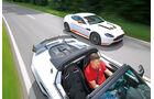 Aston Martin V12 Vantage S, Lotus Elise Cup 250, Ausfahrt