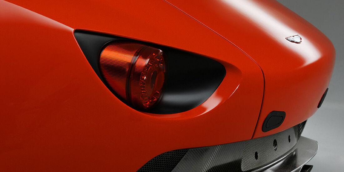 Aston Martin V12 Zagato Concept, Rücklicht