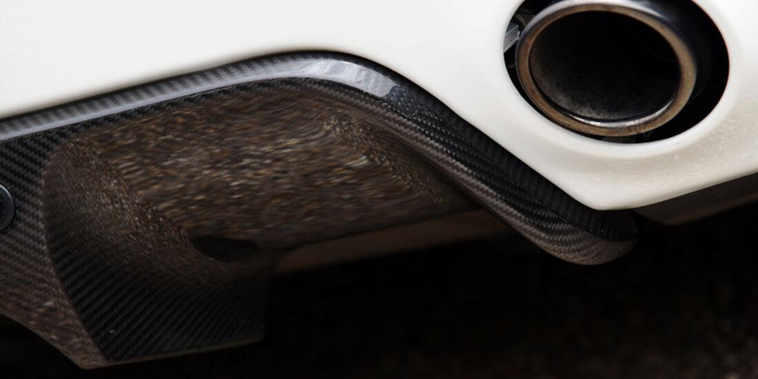 Aston Martin V8 Vantage N420, Auspuff
