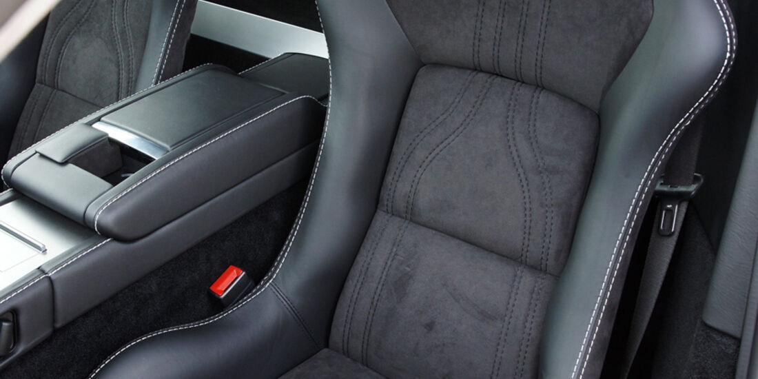 Aston Martin V8 Vantage N420, Sitz