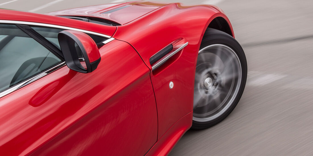 Aston Martin V8 Vantage, Seitenspiegel