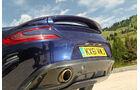 Aston Martin Vanquish, Auspuff