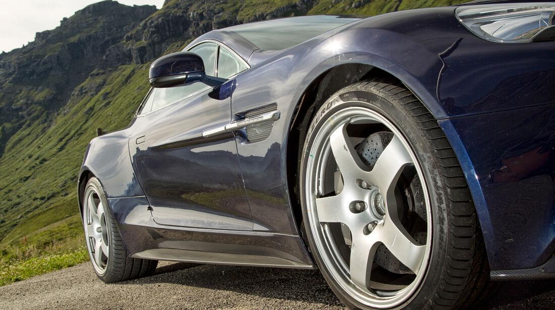Aston Martin Vanquish, Rad, Felge