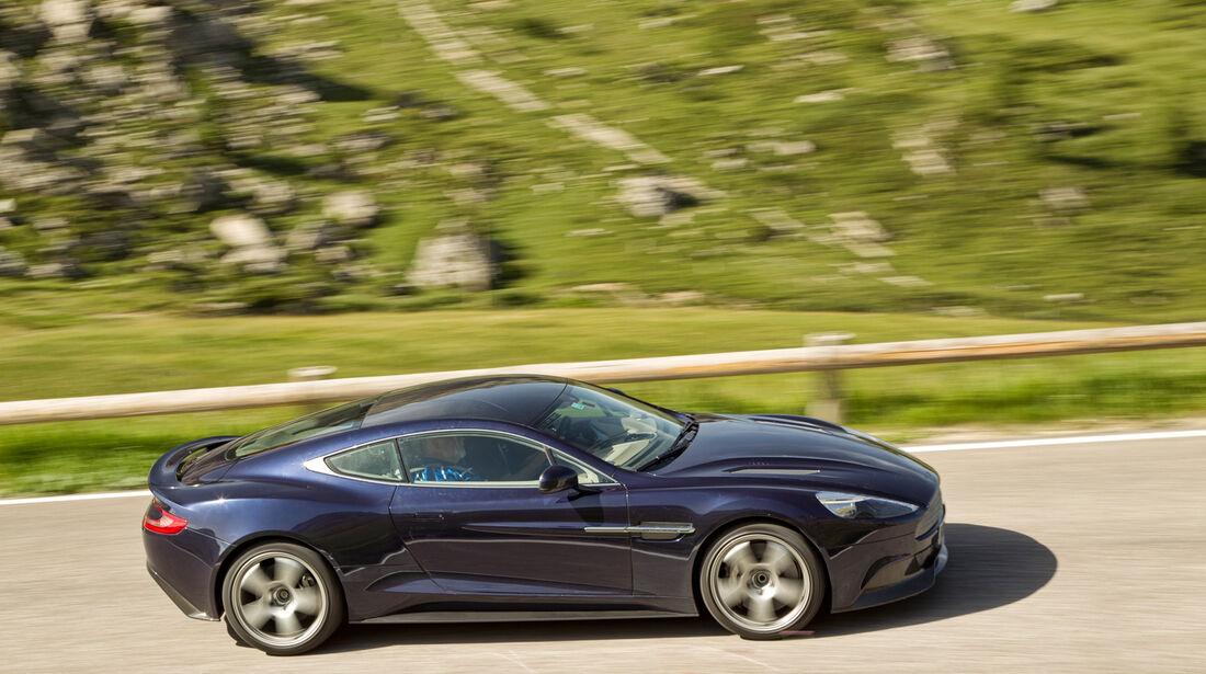 Aston Martin Vanquish, Seitenansicht