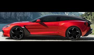 aston martin vanquish zagato: als speedster für 28 sammler - auto