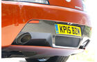 Aston Martin Vantage S, Auspuff, Endrohre