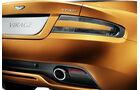 Aston Martin Virage, Heck, Auspuff