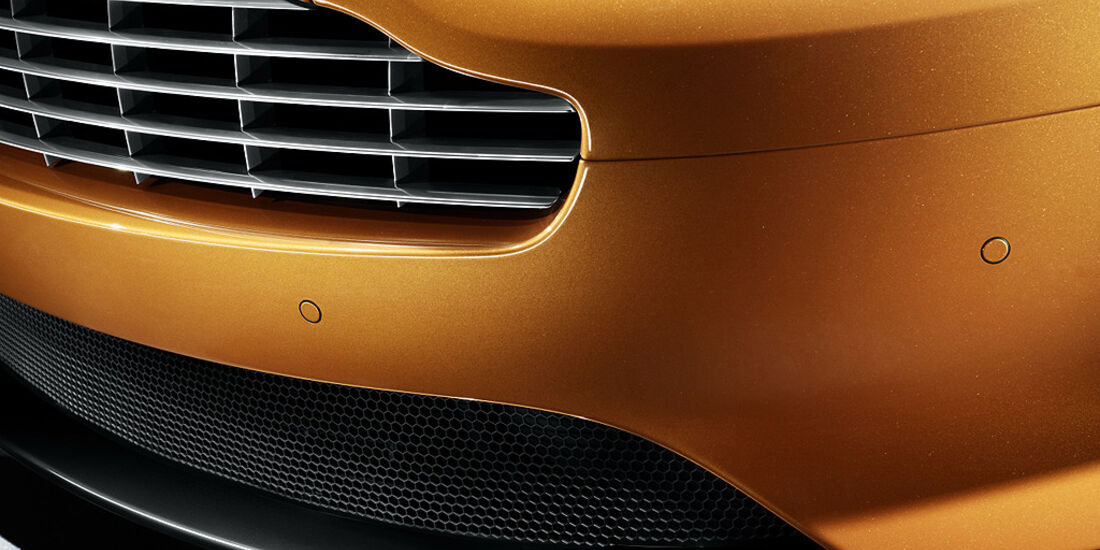 Aston Martin Virage, Kühlergrill, Frontspoiler