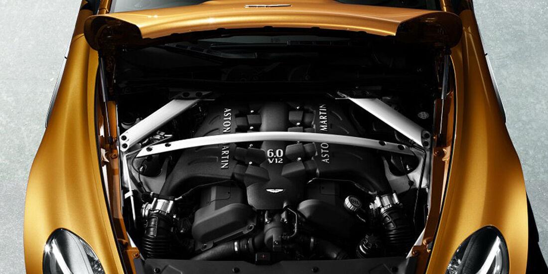 Aston Martin Virage, Motor, V12