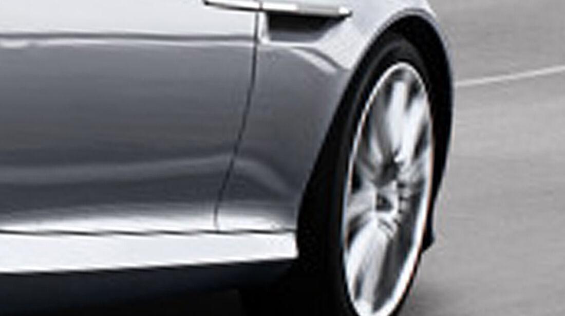 Aston Martin Virage Volante, Luftauslass, Felge