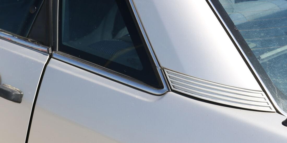 Audi 100 CS, Typ 44, Heckscheibe