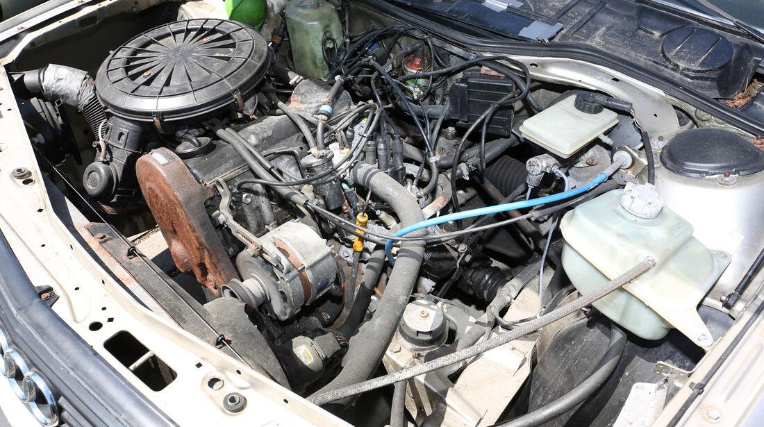 Audi 100 CS, Typ 44, Motor