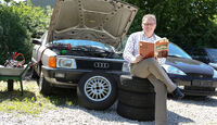 Audi 100 CS, Typ 44, Motorhaube, Alf Cremers