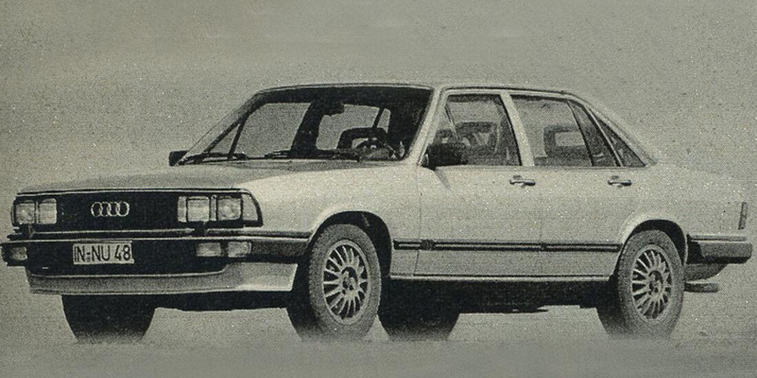 Audi, 200 5T, IAA 1981