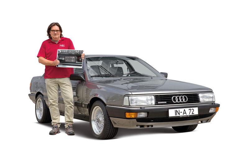 Audi 200, Frontansicht