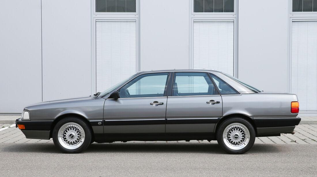 Audi 200, Seitenansicht