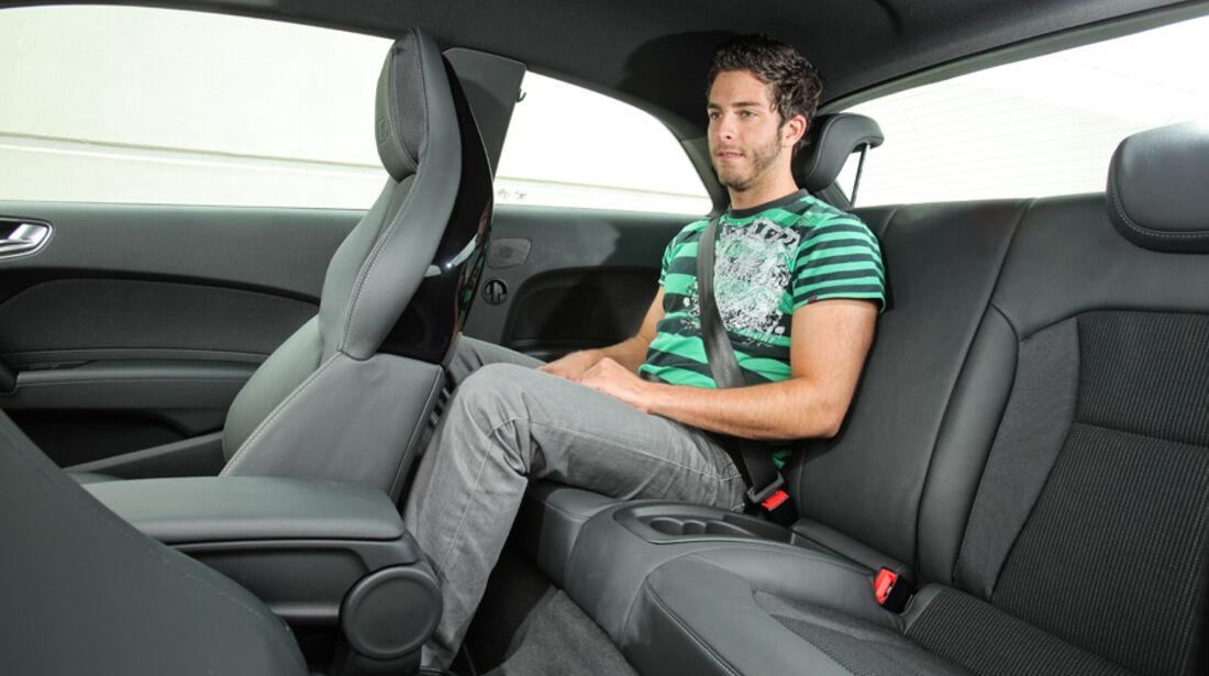 Audi A1 1.4 TFSI, Fond