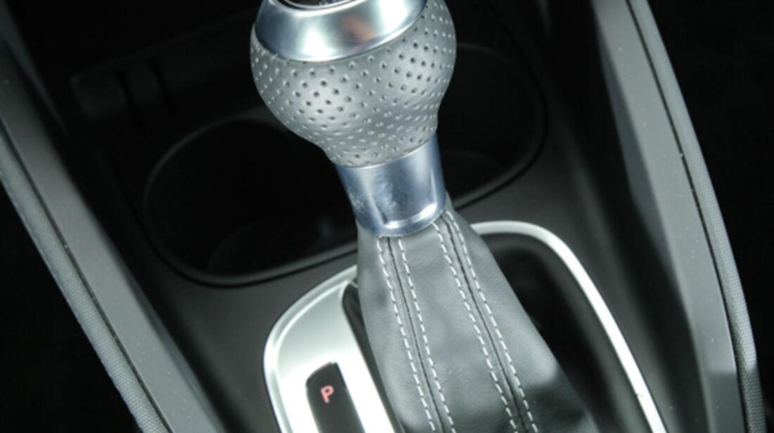 Audi A1 1.4 TFSI, Schaltung