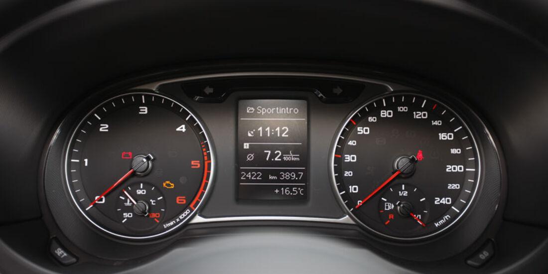 Audi A1 Instrumente