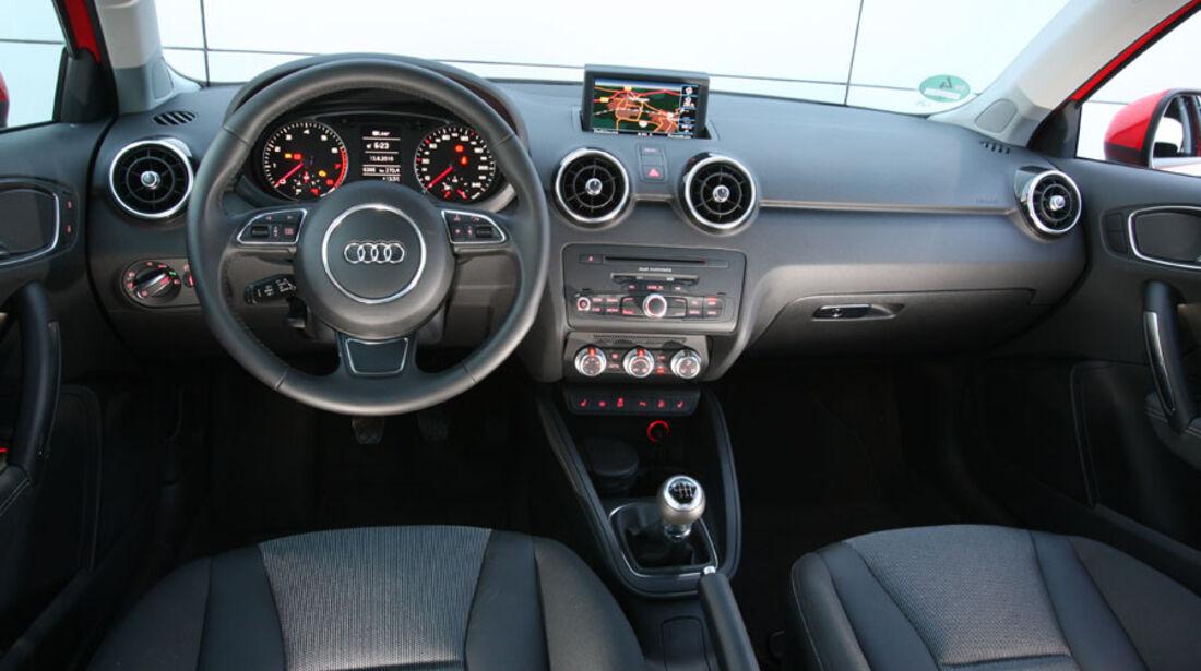 Audi A1, Instrumente