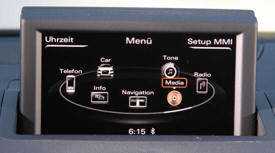 Audi A1, Multimedia-Bedienung