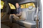 Audi A1, Rücksitz