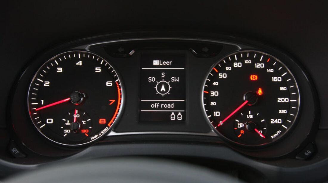 Audi A1, Sitze