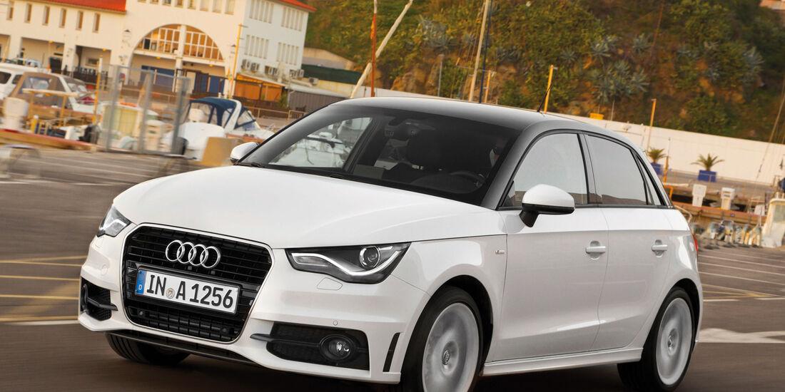 Audi A1 Sportback 1.4 TFSI, Frontansicht