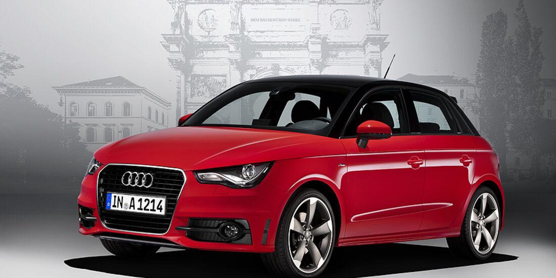 Audi A1 Sportback, Front