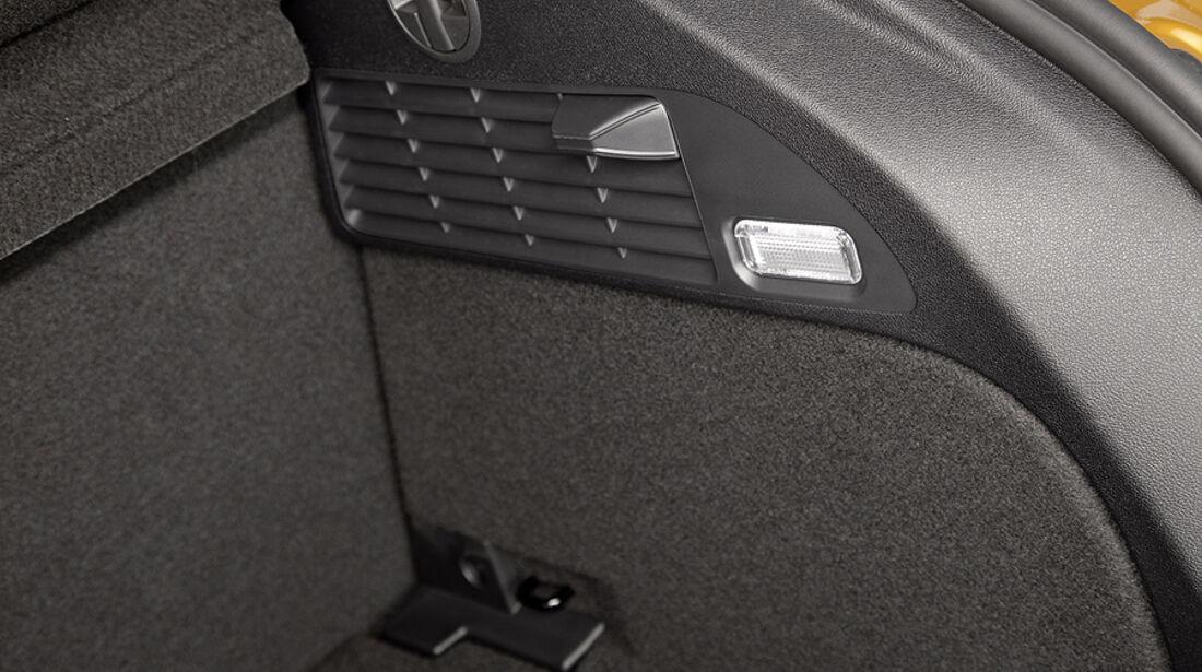 Audi A1 Sportback, Kofferraum Detail