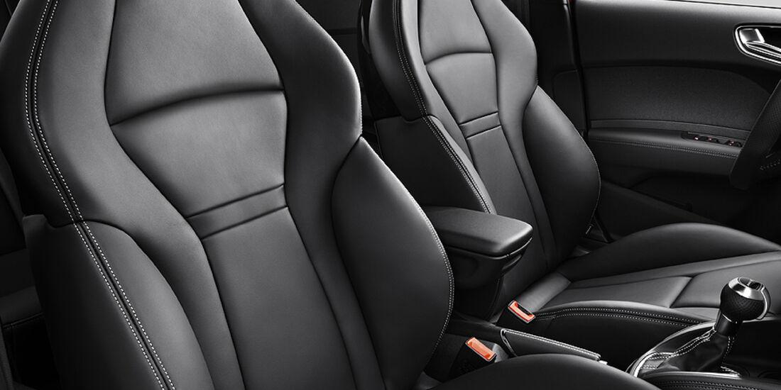 Audi A1 Sportback, Sitze