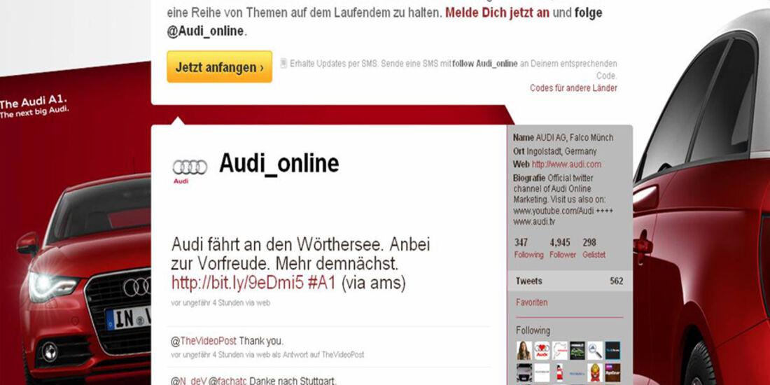Audi A1 Werbung
