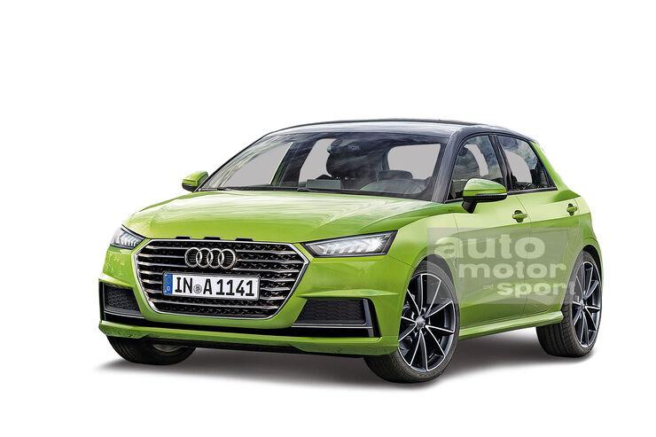 Neuer Audi A1 2018 Neuer Kleinwagen erwischt auto