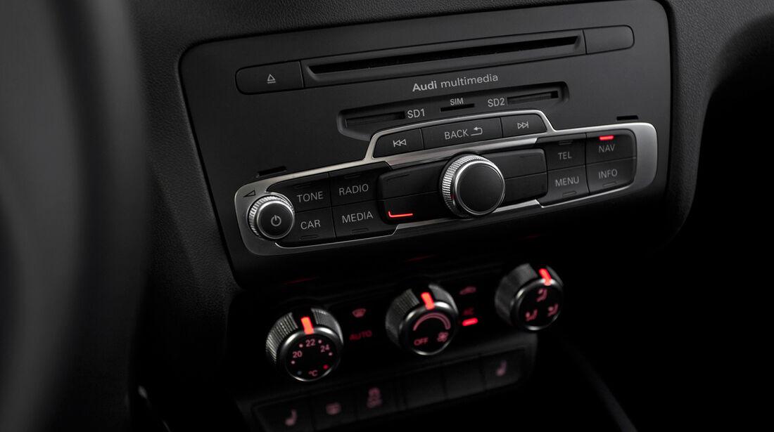 Audi A1 quattro, Radio