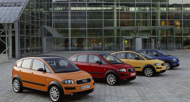Audi A2, Auto der Woche, A2 Colour Storm
