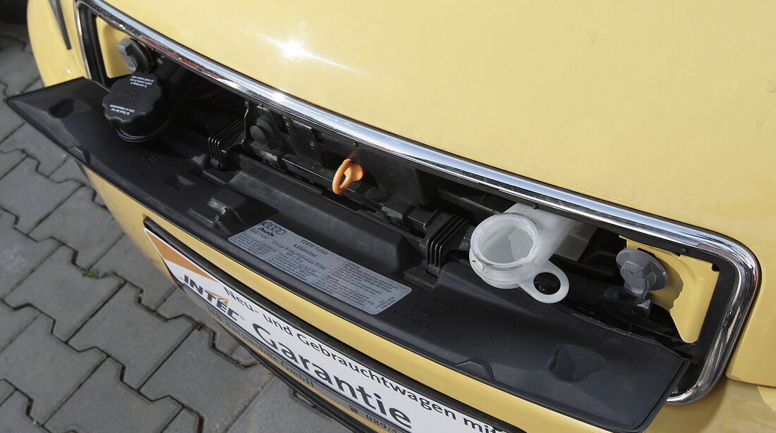 Audi A2, Auto der Woche, Serviceklappe