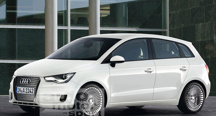 Audi ändert Klein- und Sportwagenpläne: A2 später, R4 entfällt ...